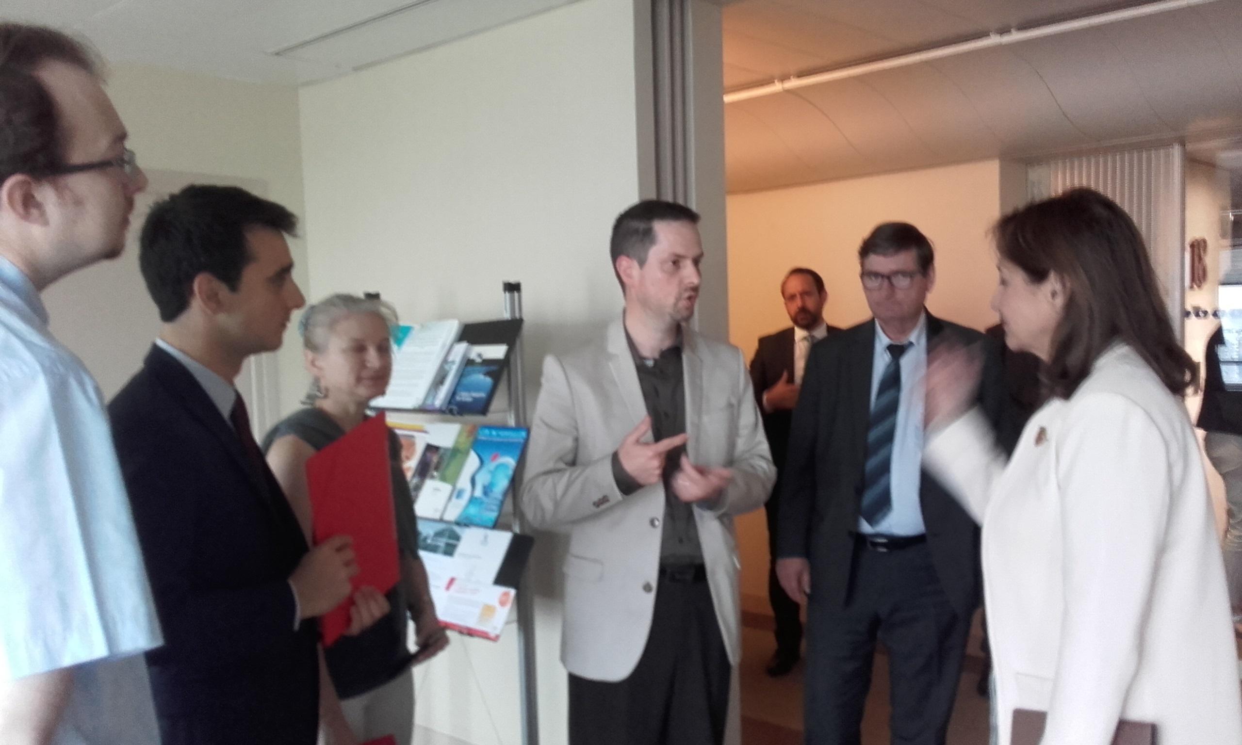 rencontre entre le SNITPECT-FO et Ségolène Royal le 24 juin 2016